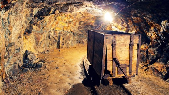 Old mine, new technology: Metering bulk goods on a large scale